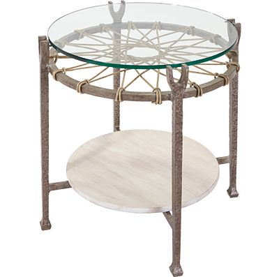 lane-venture-ernest-hemingway-outdoor-round-end-table