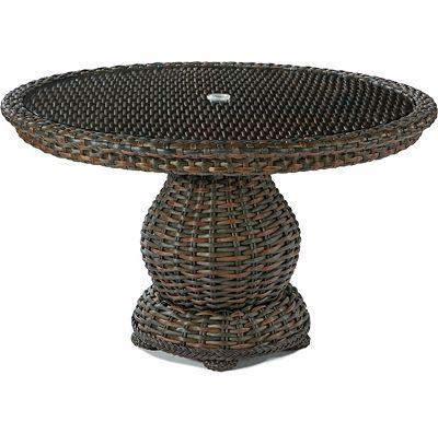lane-venture-south-hampton-round-pedestal-dining-table