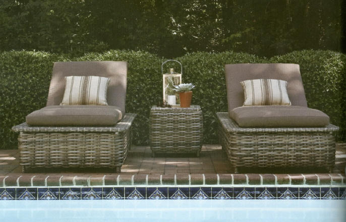 lane venture weathermaster st simons chaise lounge