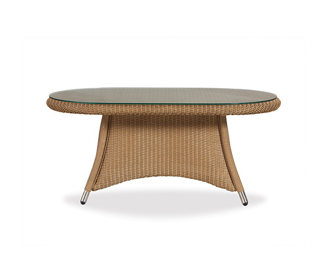 lloyd-flanders-generations-oval-cocktail-table