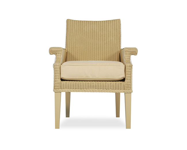 lloyd-flanders-hamptons-arm-dining-chair