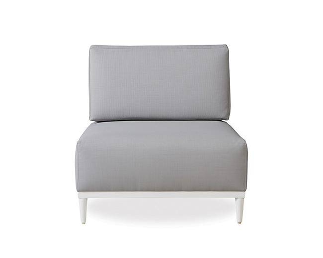 lloyd-flanders-south-beach-armless-chair