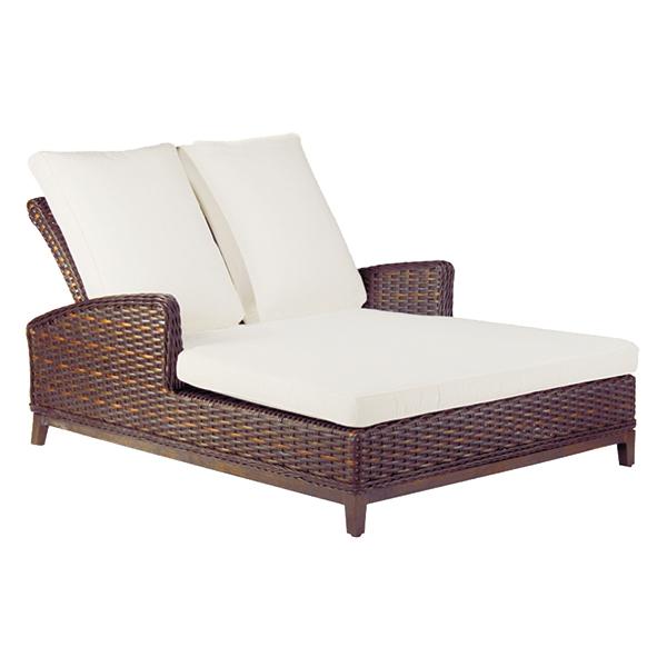 Beau Patio Renaissance Catalina Double Chaise Lounge