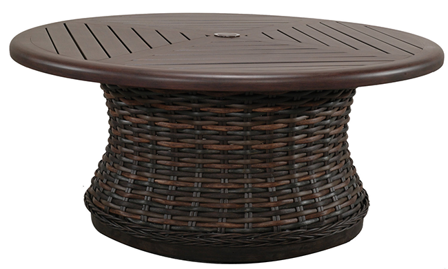 patio-renaissance-catalina-round-woven-coffee-table