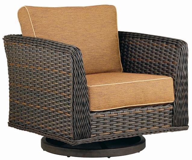 Catalina High Back Swivel Glider Outdoor Furniture