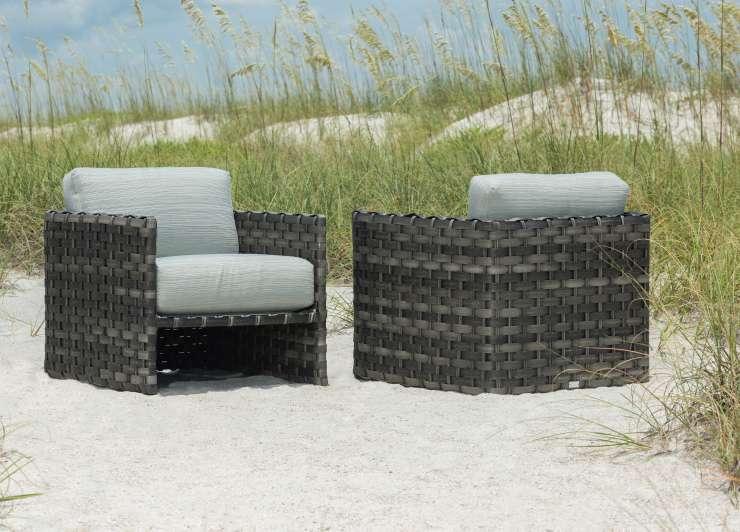 ebel allegre outdoor woven club chair