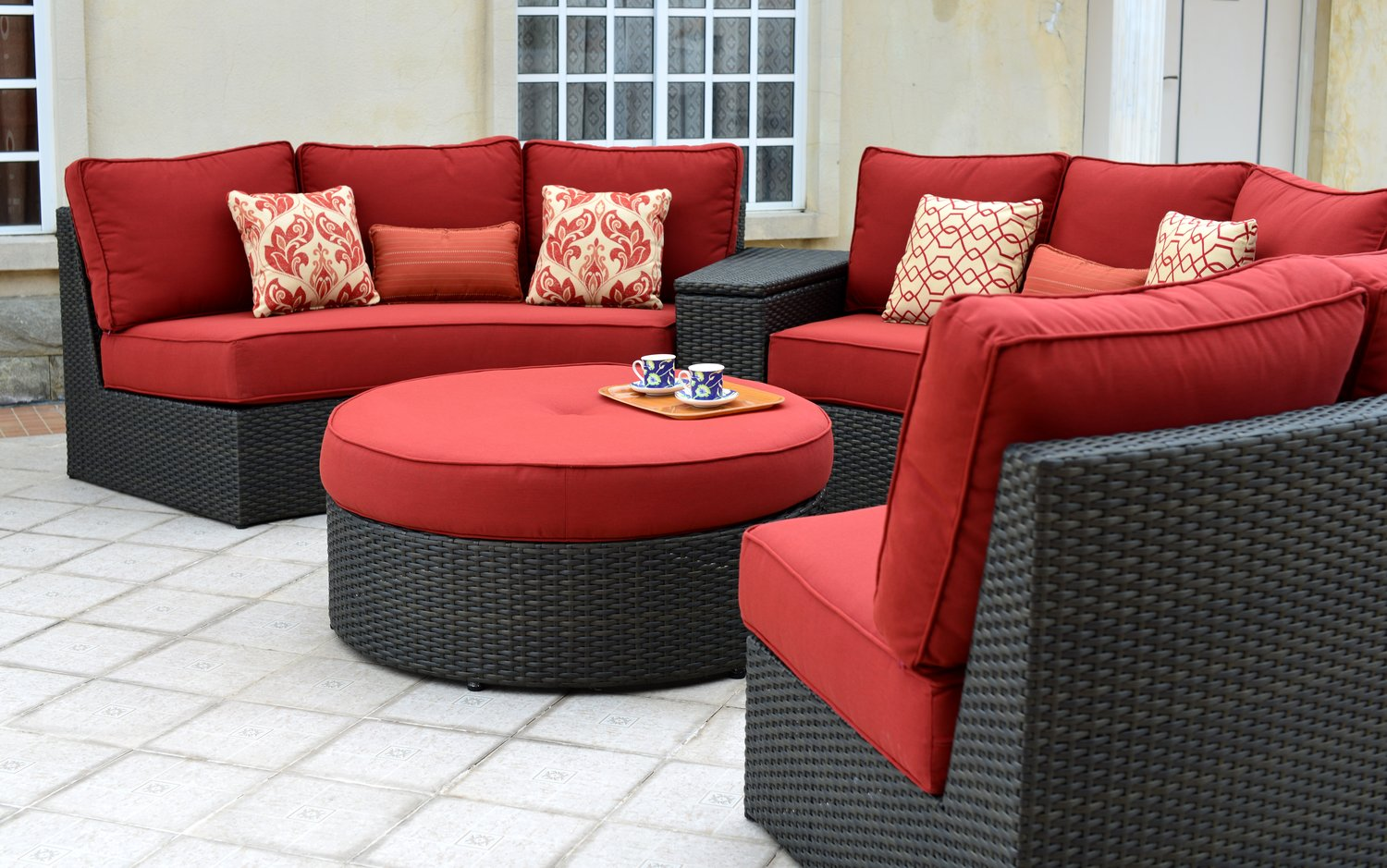Patio Renaissance Del Mar Circular Sectional Sofa Outdoor