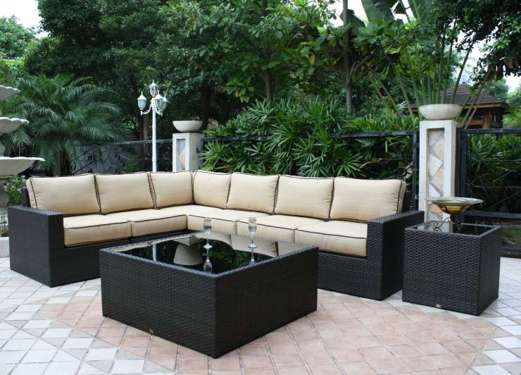 del mar outdoor furniture ellenburgs. Black Bedroom Furniture Sets. Home Design Ideas