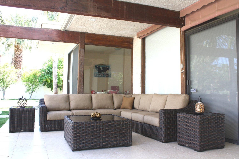 Patio Renaissance Sorrento Sectional Sofa Outdoor Furniture