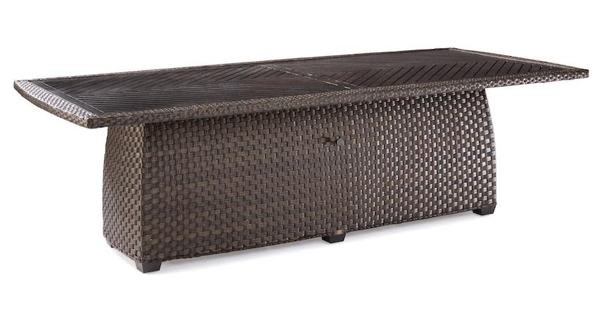 leeward rectangular dining table