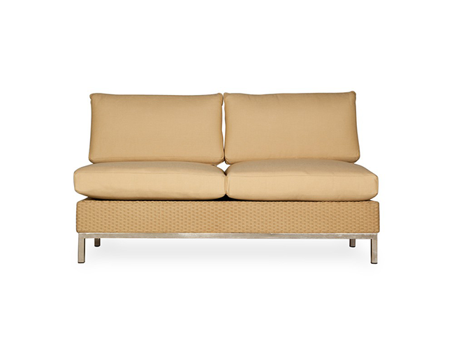 lloyd-flanders-elements-armless-settee