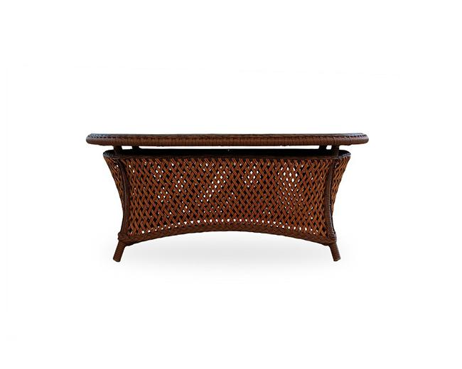 lloyd-flanders-grandtraverse-oval-cocktail-table