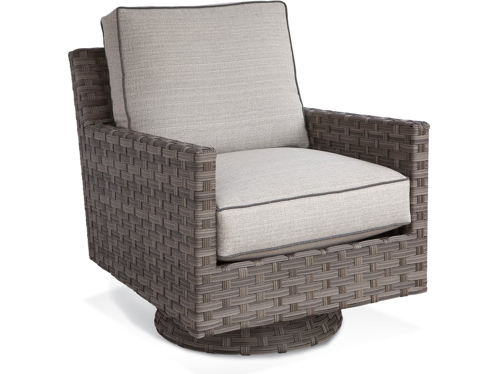 Braxton Culler Luciano Swivel Chair Outdoor Furniture
